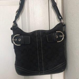 Classic timeless Coach bag.